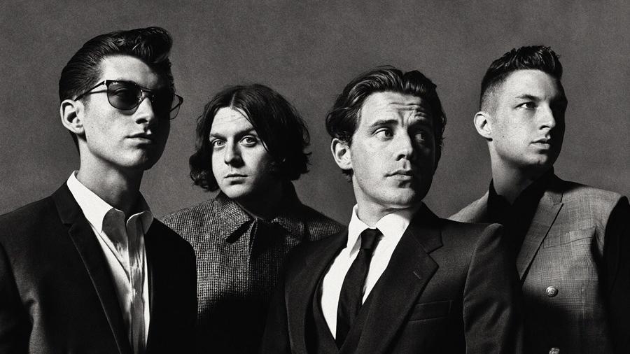 A banda Arctic Monkeys - Reprodução