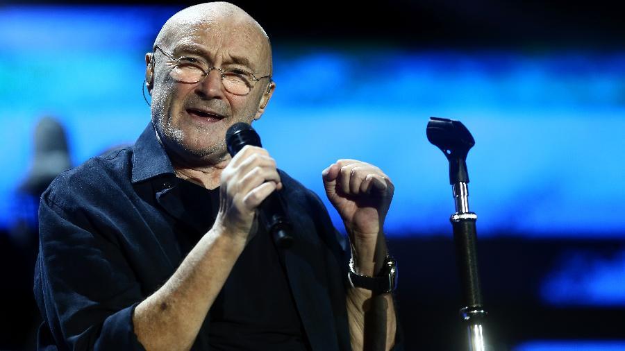 Em sua primeira turnê solo no Brasil, Phil Collins se apresentou no Maracanã, na última quinta (22) - Fábio Motta/Estadão Conteúdo