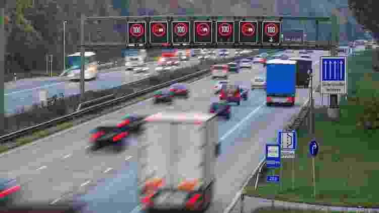 Estrada Alemanha Autobahn - Getty Images/iStockphoto - Getty Images/iStockphoto