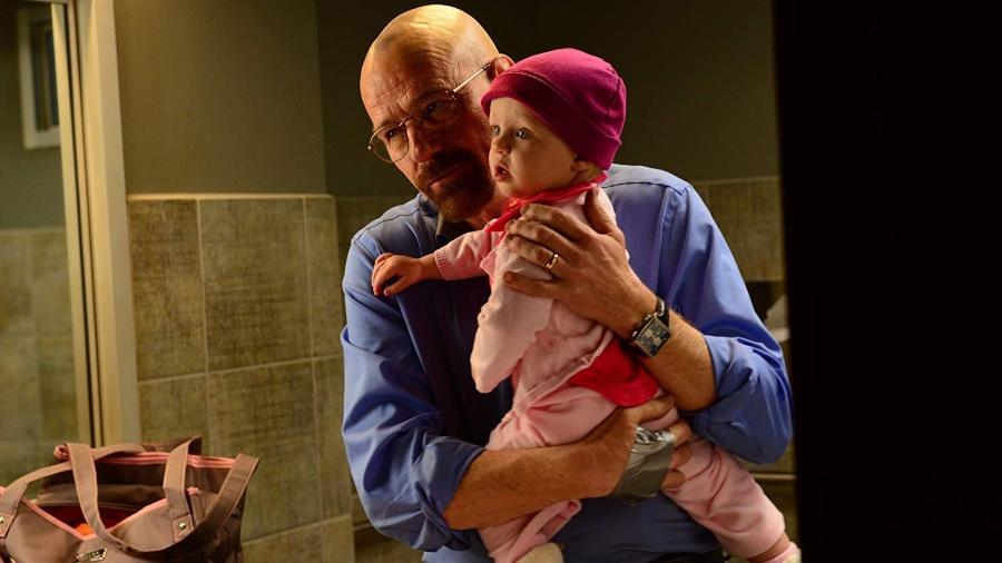 """O protagonista Walter White em cena de """"Breaking Bad"""" - Reprodução"""