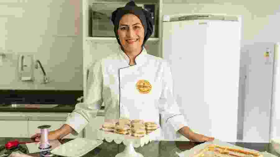 Lucilaine trocou as salas de aula pela confeitaria e hoje faz sucesso com seu negócio - Divulgação