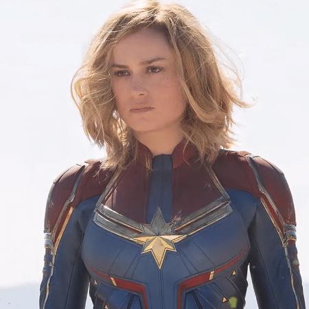 Brie Larson como Capitã Marvel - Chuck Zlotnick/Marvel Studios 2019