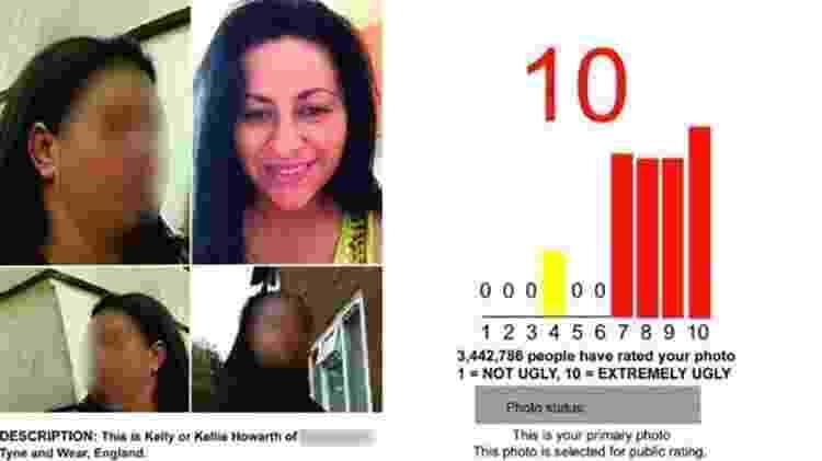 Kellie teme que seus filhos corram perigo se ela for reconhecida e pediu que as fotos recentes dela fossem desfocadas - Reprodução - Reprodução