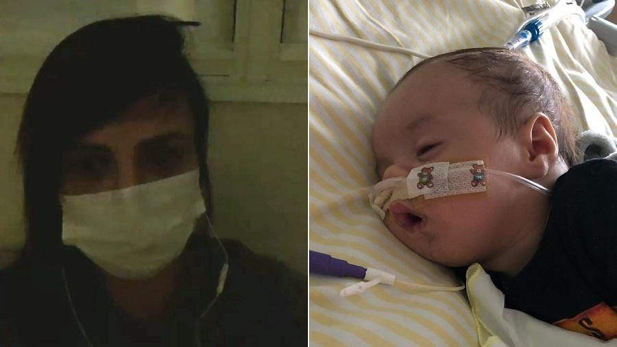 Valentina Francavilla desabafa após filho recém-nascido ir para UTI - Montagem/UOL/Reprodução/Instagram/valentinafrancavilla