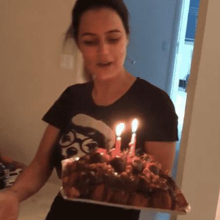 Luciele Di Camargo comemora 41 anos - Reprodução/Instagram