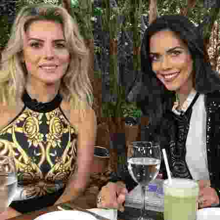 Mari Alexandre e Daniela Albuquerque - Divulgação/Rede TV!) - Divulgação/Rede TV!)