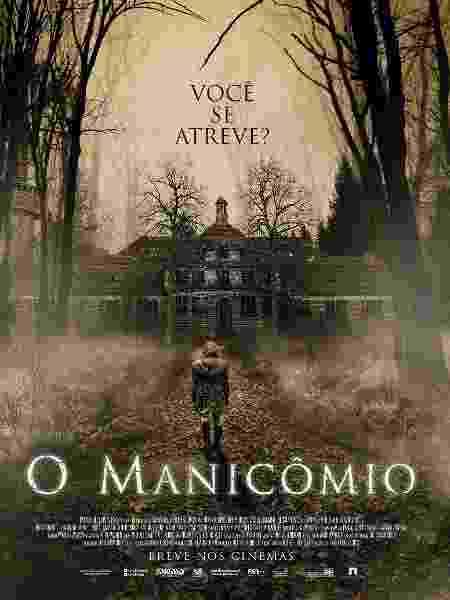 """Pôster nacional de """"O Manicômio"""" - Divulgação"""