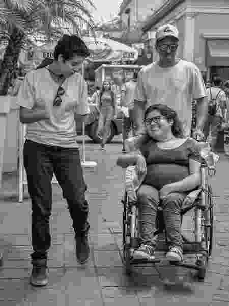 Yamara, Junior e Fernanda, em Guadalajara, no México - Arquivo Pessoal - Arquivo Pessoal