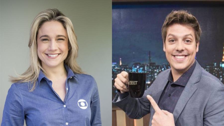 O programa de Fernanda Gentil e Fábio Porchat é mantido em segredo na emissora e deve estrear em abril - Divulgação/Montagem UOL
