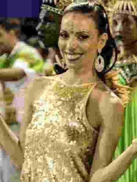 Claudia Mota, coreógrafa da Império Serrano - Divulgação