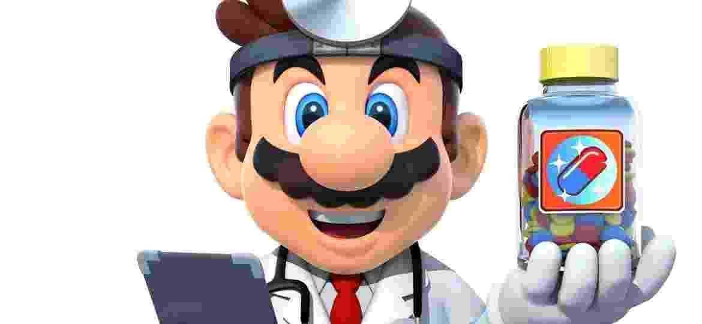 Dr. Mario surgiu no primeiro console da Nintendo - Reprodução