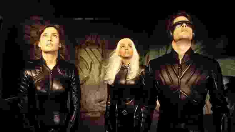 """Jean Grey (Famke Janssen), Tempestade (Halle Berry) e Ciclope (James Marsden) em """"X-Men: O Filme"""" - Divulgação/IMDb"""