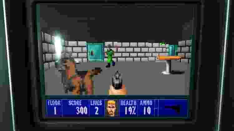 Não tem Street Fighter II, mas tem o Wolfenstein clássico - Reprodução