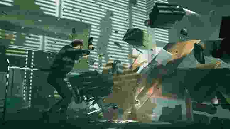 Os cenários são cheios de detalhes, o que fica ainda mais claro nas cenas de destruição - Divulgação