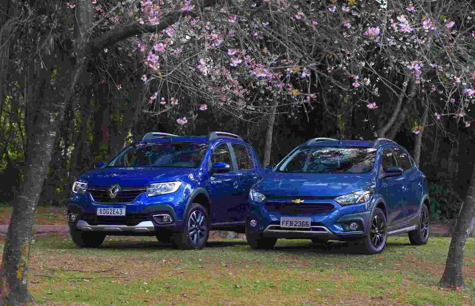 Renault Stepway x Chevrolet Onix Activ - Murilo Góes/UOL