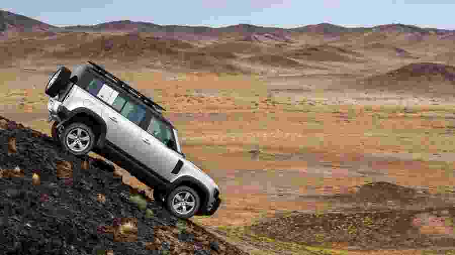 Land Rover Defender 2020 - Divulgação