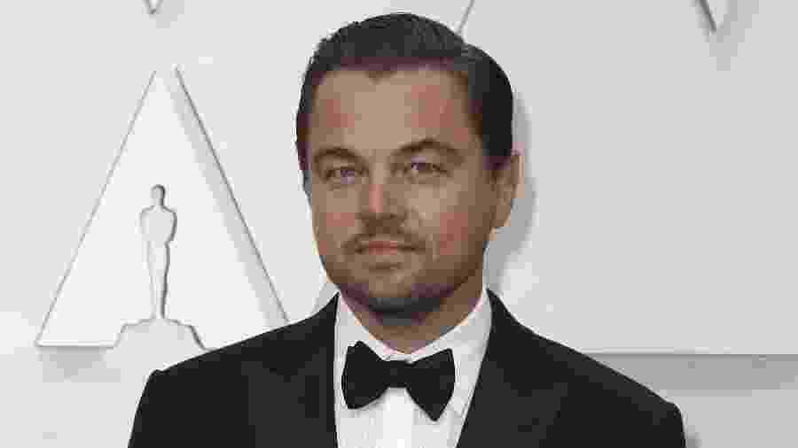 Leonardo DiCaprio, no tapete vermelho do Oscar 2020 - REUTERS/Eric Gaillard
