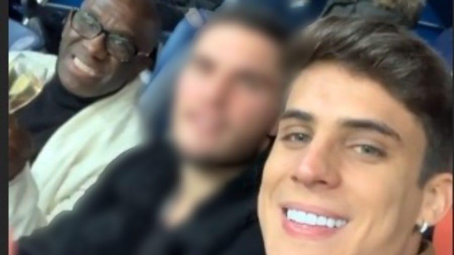 Mauro na ponta esquerda e Tiago Ramos na ponta direita  - Reprodução/Instagram