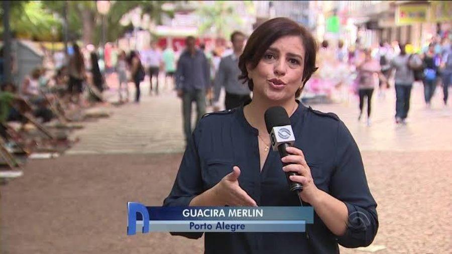 Guacira Merlin - Reprodução/TV Globo