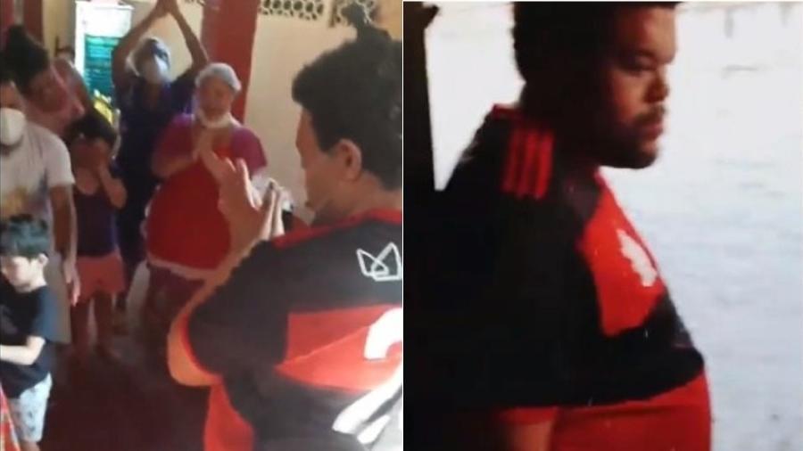Babu Santana volta para casa após participação no BBB 20 - Reprodução/Instagram