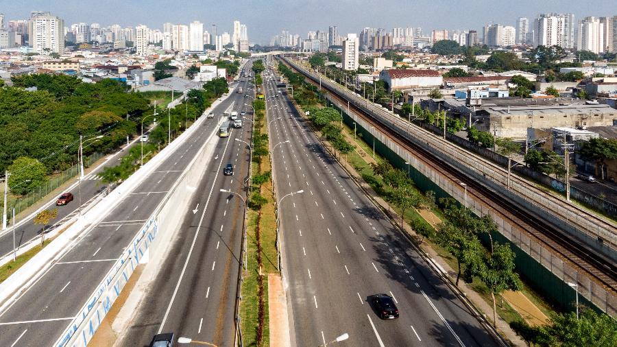 Avenida Radial Leste, em São Paulo - Estadão Conteúdo
