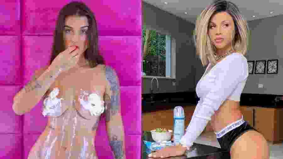 Bárbara Labres e Gabily - Reprodução/Instagram