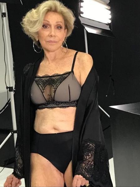 """Helena Schargel, de 80 anos, é dona de uma marca de lingeries para a terceira idade. """"Meu objetivo é tirar as mulheres mais velhas da invisibilidade"""" - Divulgação"""