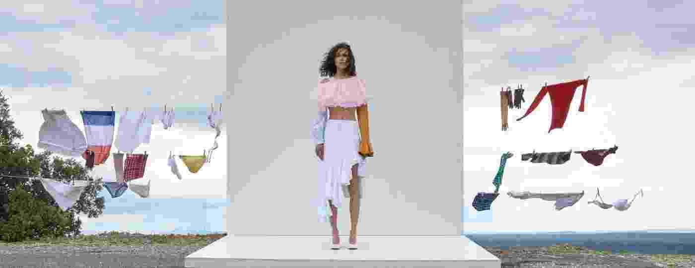 Elementos da moda nordestina, como o xadrez e a palha, ocupam espaço urbano e criam novas tendências - Theresa Marx/Divulgação