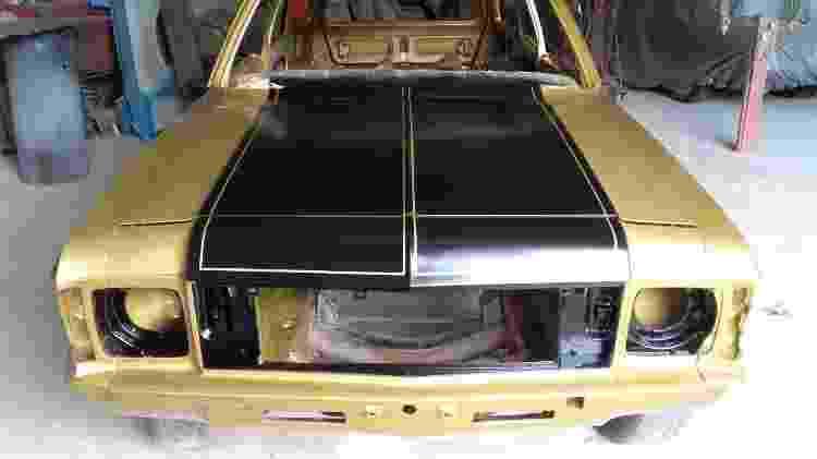 Chevrolet Caravan SS 1978 Alexandre Badolato coleção colecionador motor 6 cilindros restauração - Arquivo pessoal - Arquivo pessoal