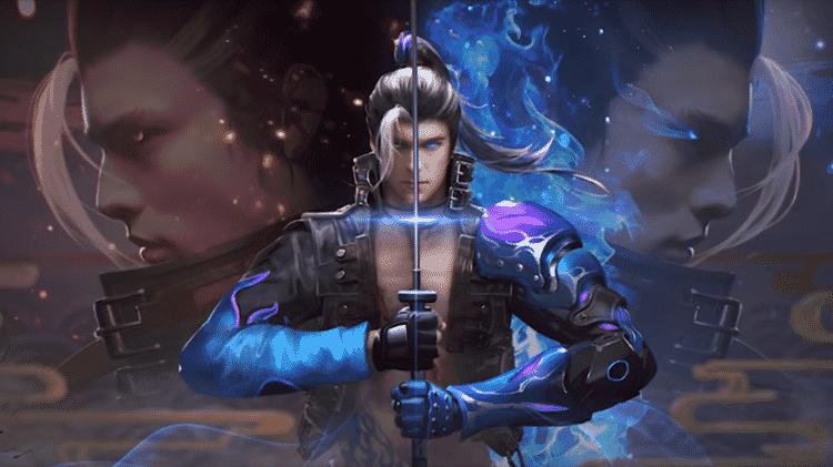 Hayato Chama Azul Free Fire - Reprodução - Reprodução