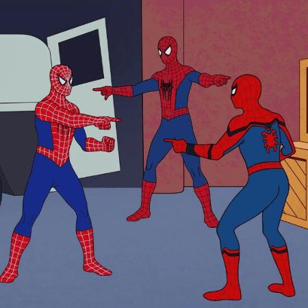 meme homem aranha - reprodução/Twitter - reprodução/Twitter