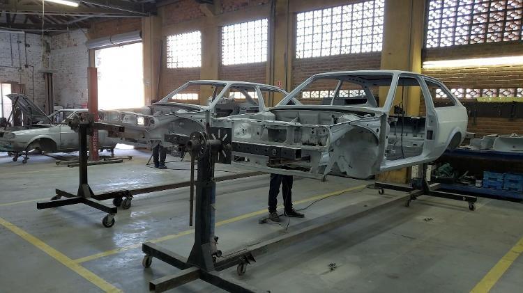 By Deni Studio VW Gol GTI carrocerias - Arquivo pessoal - Arquivo pessoal