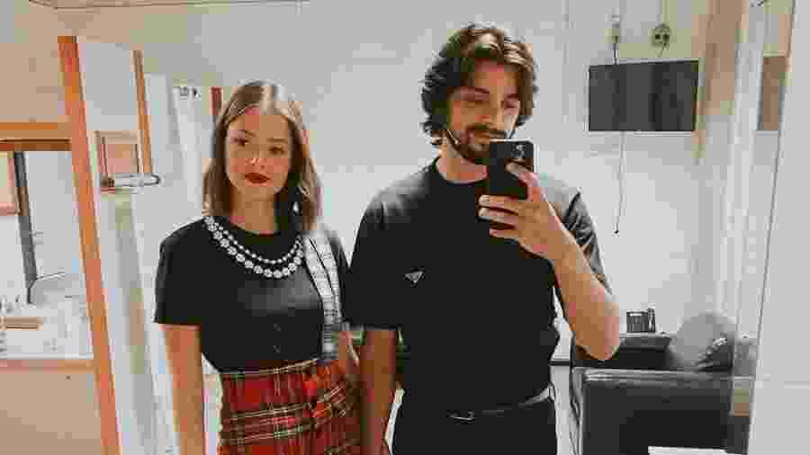 Agatha falou sobre relação com Rodrigo em entrevista - Reprodução/Instagram @agathaamoreiraa