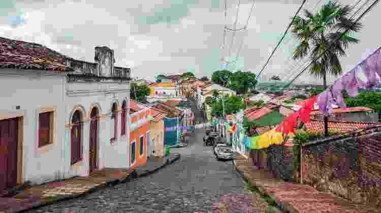 Ruas de Olinda, em Pernambuco - Getty Images - Getty Images