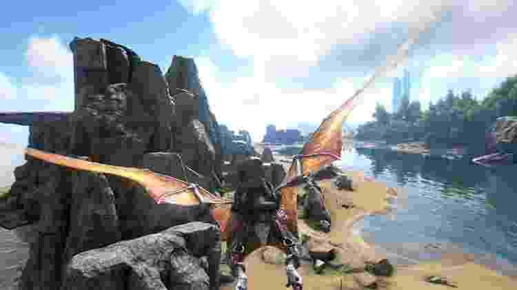Ark Survival Evolved - Reprodução/Ark Survival Evolved - Reprodução/Ark Survival Evolved