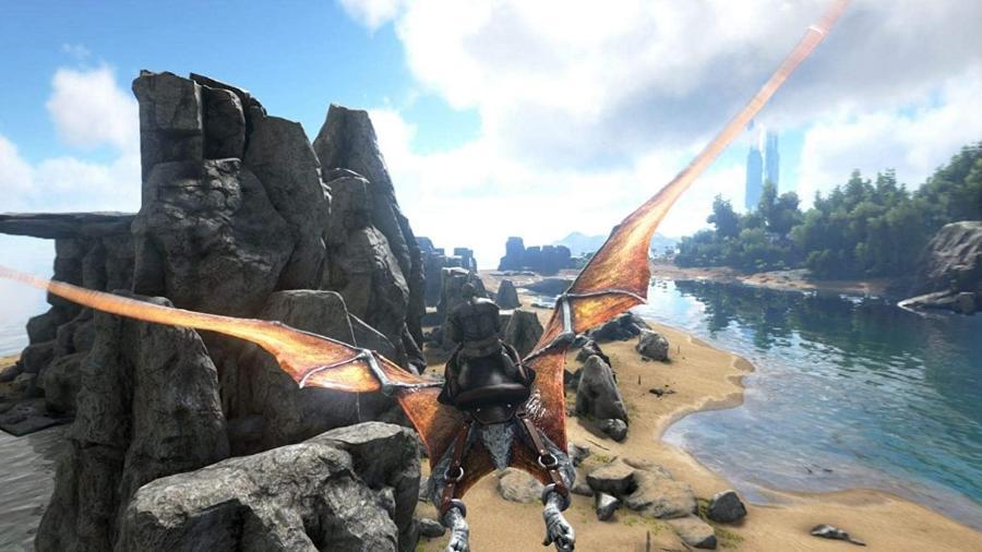 Ark Survival Evolved é um dos jogos para zerar rapidinho e garantir 1000G - Reprodução/Ark Survival Evolved