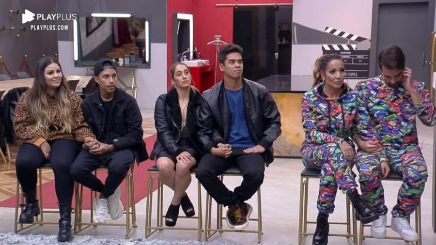 Power Couple: Dany e Fábio, Mari e Matheus e Renata e Leandro na DR - Reprodução/RecordTV
