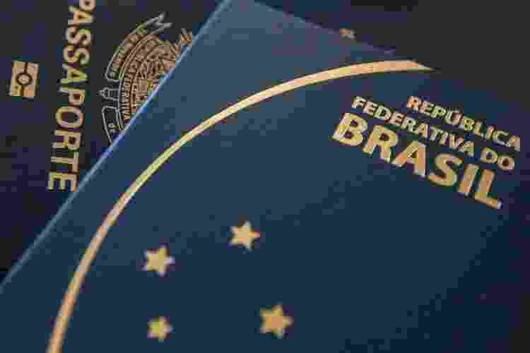 Passaporte brasileiro comum - Getty Images - Getty Images