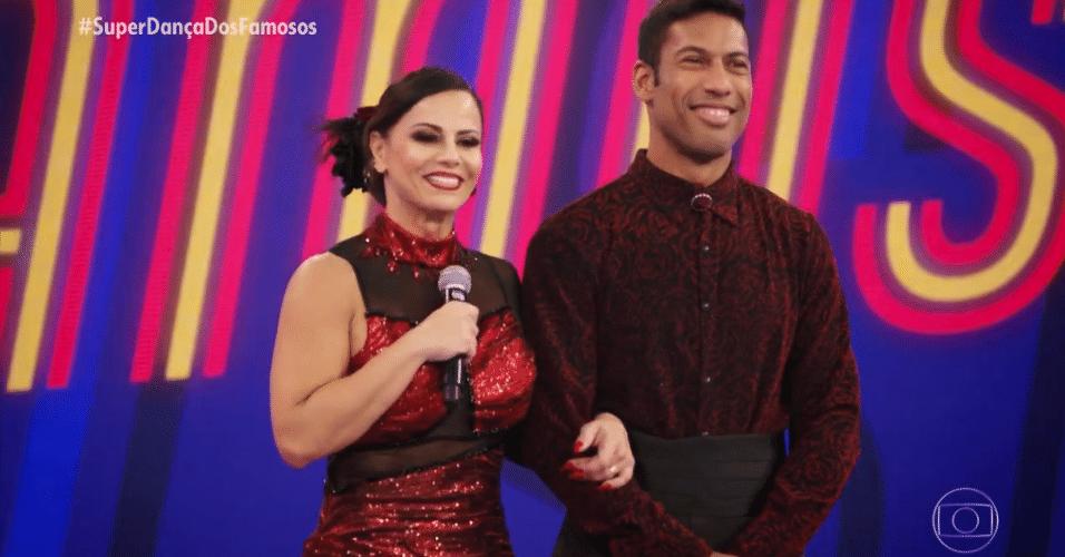 Viviane Araújo na semifinal 'Super Dança dos Famosos'