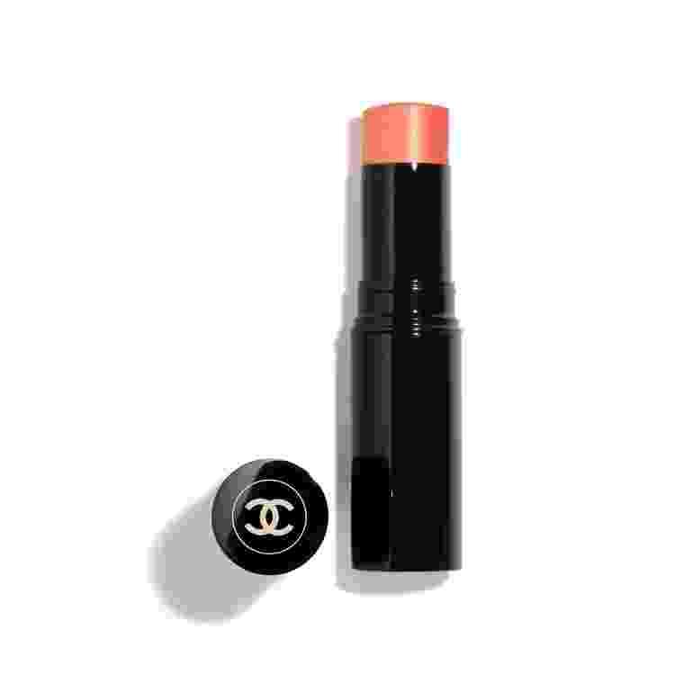 Blush Translúcido em Bastão, Les Beiges, cor N°22, Chanel. R$355 - Divulgação - Divulgação