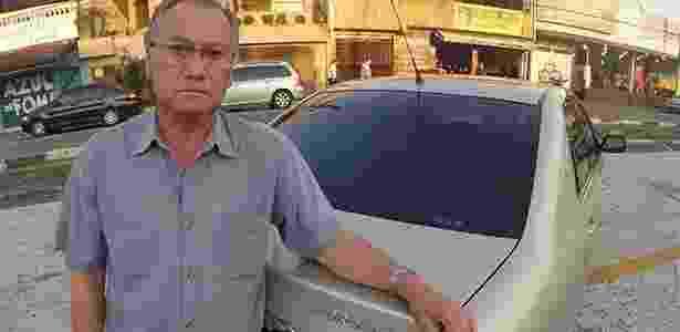 Arnaldo Komesu aguarda desde junho por reparo no airbag de seu Corolla 2006 - Marcio Komesu/UOL