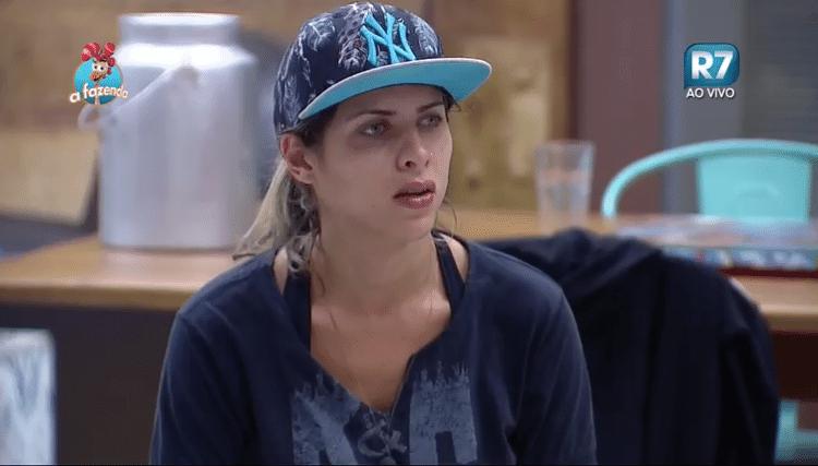 5.nov.2015 - Ana Paula Minerato avisa que quer ganhar a prova da chave: