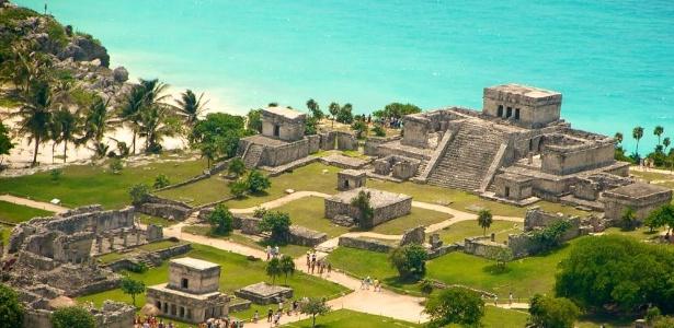 Tulum mistura sítios arqueológicos com lindas praias  - Divulgação/Visit Mexico