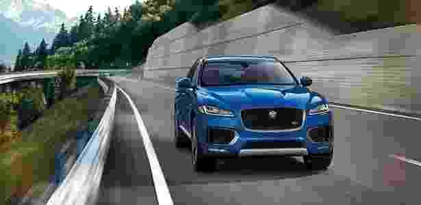 Jaguar F-Pace - Divulgação - Divulgação