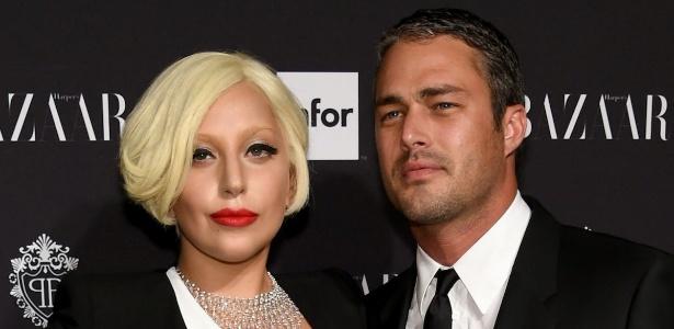 Lady Gaga e Taylor Kinney ficaram noivos em 2015 - Getty Images