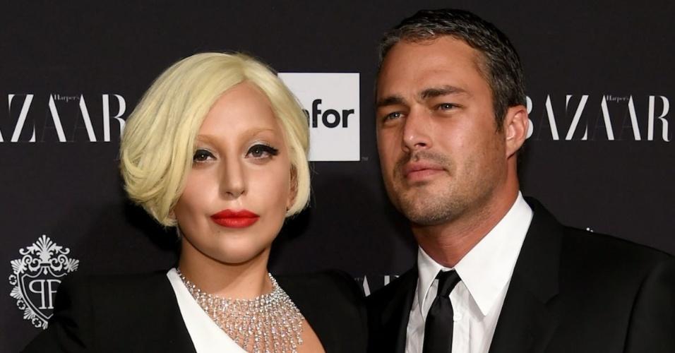 Lady Gaga e Taylor Kinney ficaram noivos em 2015