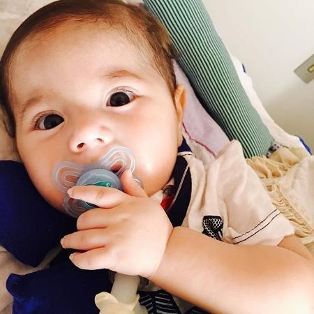 Joaquim sofre de atrofia muscular espinhal - Instagram/amejoaquim