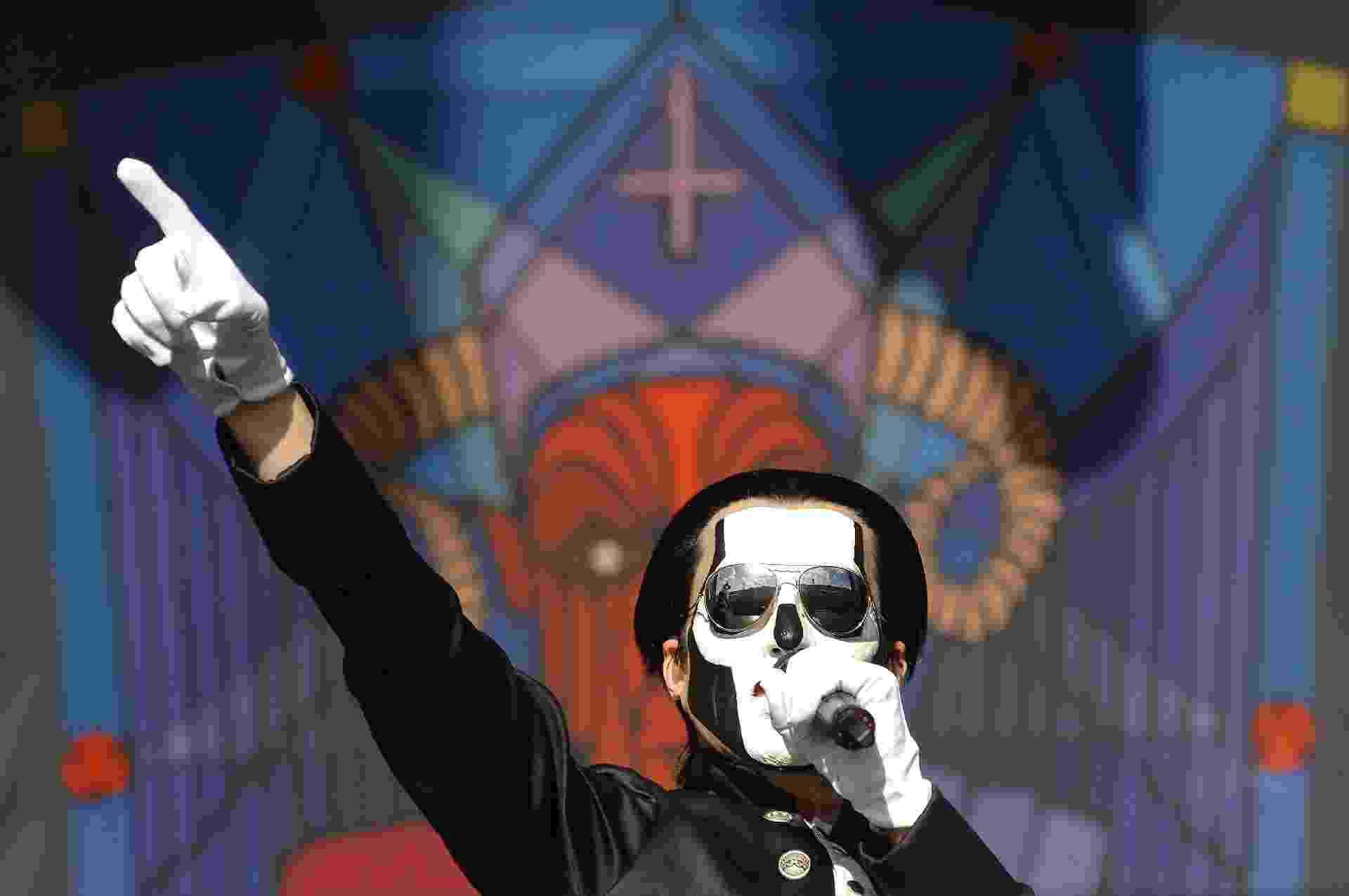 Banda Ghost se apresenta no Maximus Festival - Reinaldo Canato/UOL