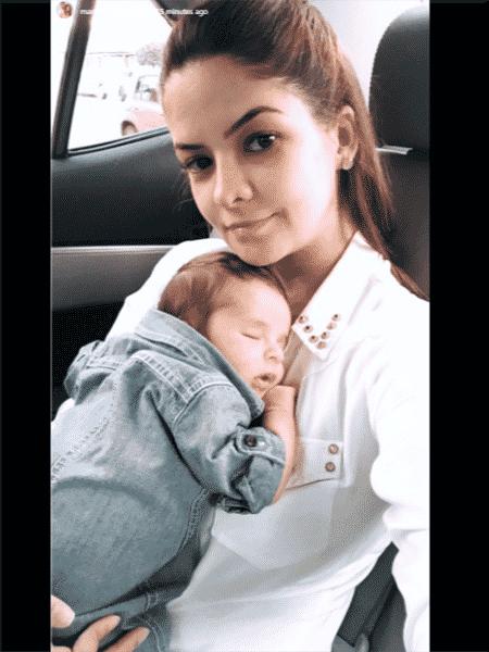 Maria Cecília posta foto do filho com Rodolfo - Reprodução/Instagram - Reprodução/Instagram