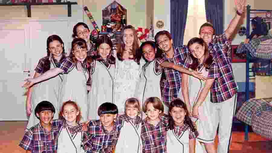 Elenco da primeira versão de Chiquititas em 1997 - Divulgação